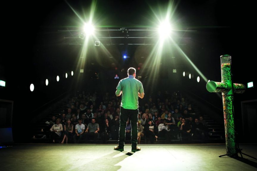 Evangelist and comedian Mark Ritchie