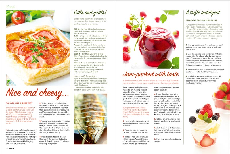 Mouthwatering recipes featured inside iBelieve Magazine
