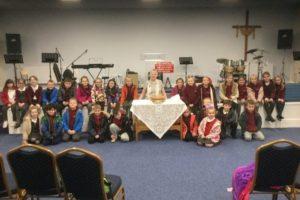 Cwmlai School visit the facilities