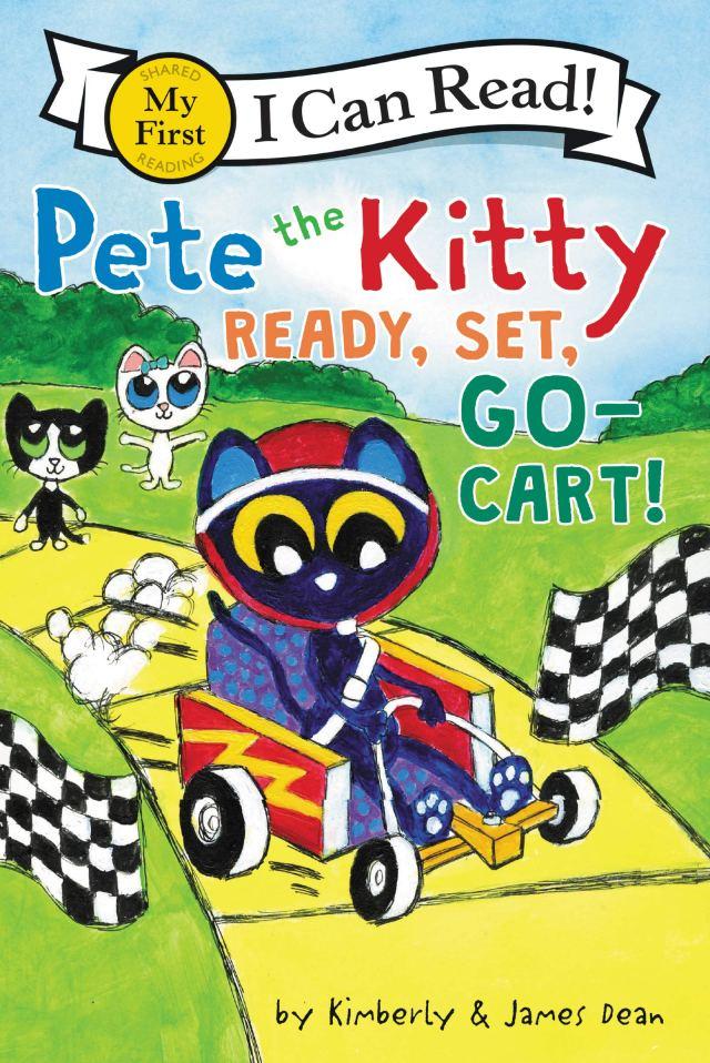 Pete the Kitty: Ready, Set, Go Cart!