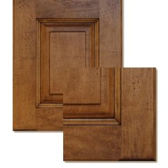 Refinishing Kitchen Countertops Brass Faucet Solid Wood Cabinet Doors - Refacing Ny