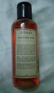 Khadi Mauri Face Wash Review