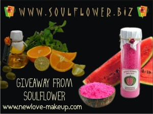 Soulflower Gift Voucher Giveaway Winner