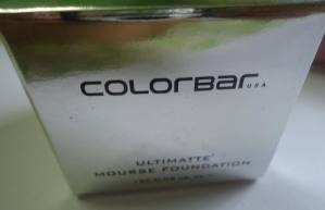 Colorbar Ultimate Mousse Foundation Review, Swatches