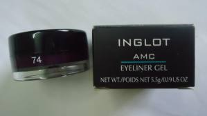 Inglot AMC Eyeliner Gel 74 Review, Swatches