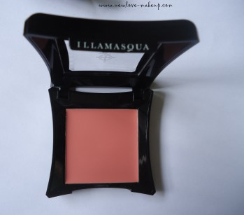 Illamasqua Velvet Blusher Flirtatious Review, Swatches