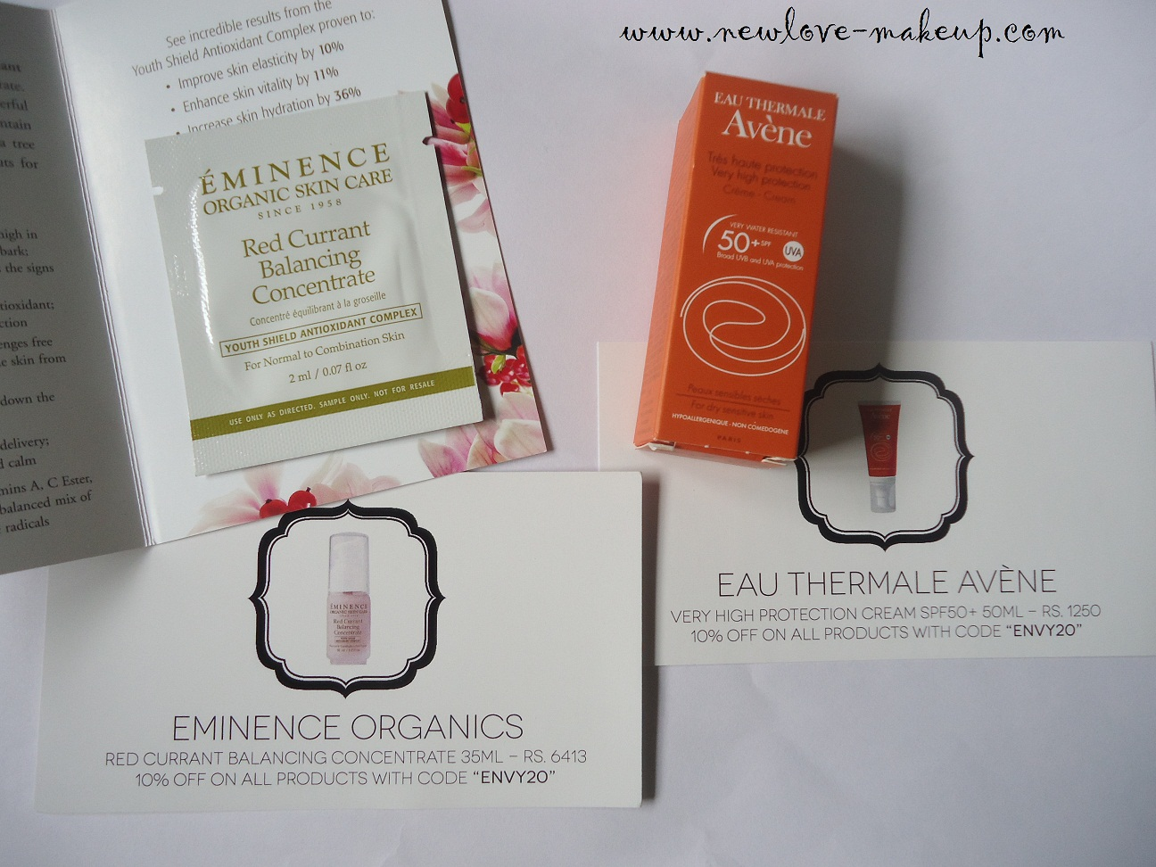 July My Envy Box Review, Indian Makeup and Beauty Blog