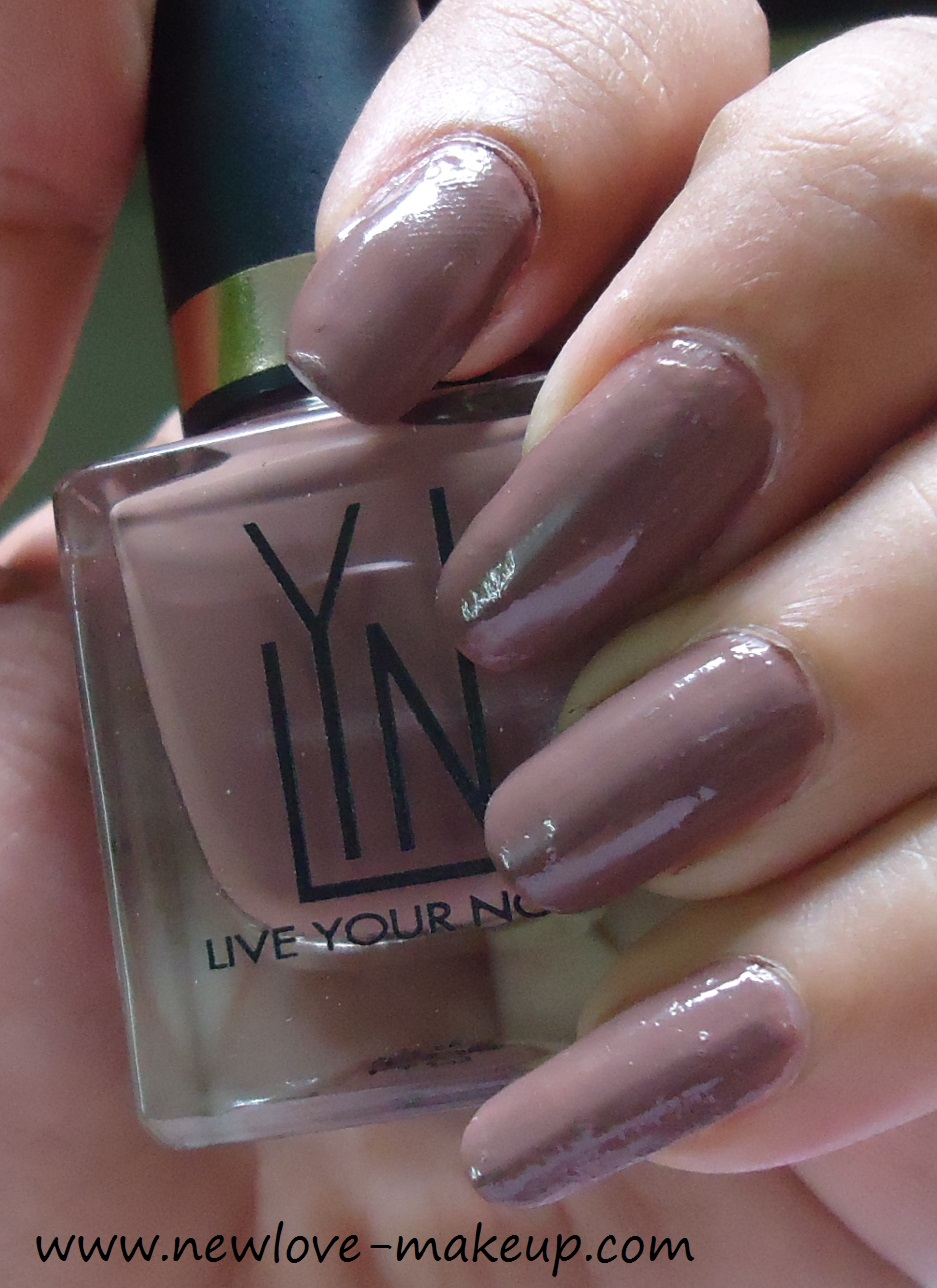 LYN Nail Lacquer Beach You To It Review,NOTD | New Love - Makeup