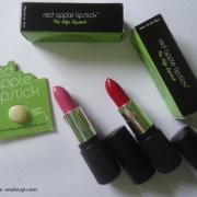 Red Apple Lipstick Petal Pusher, Red 101 Review,Swatches