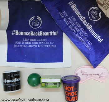 The Body Shop Sleepover with Drops of Youth Bouncy Sleeping Mask