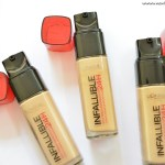 L Oreal Paris Infallible Reno Liquid Foundation Review Swatches Demo New Love Makeup