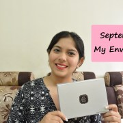 September 2015 My Envy Box Review