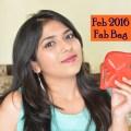Feb 2016 'Love & Makeup' Fab Bag Unboxing