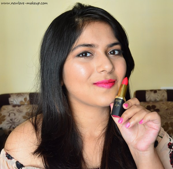 L'Oreal Paris India La Vie En Rose Collection - Review & FOTD