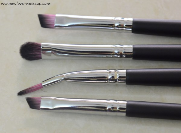 Sedona Lace Vortex Synthetic Professional Makeup Brush Set Review, Indian Makeup Blog