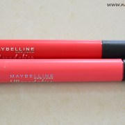 Maybelline Lip Gradation Coral1, Red2 Review, Swatches, Indian Makeup and Beauty Blog, FOTD