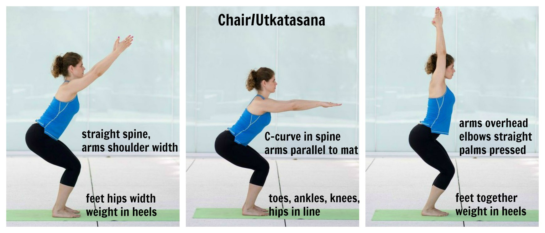 Top 5 yoga asanas to get glowing skin new love makeup for Chair yoga benefits