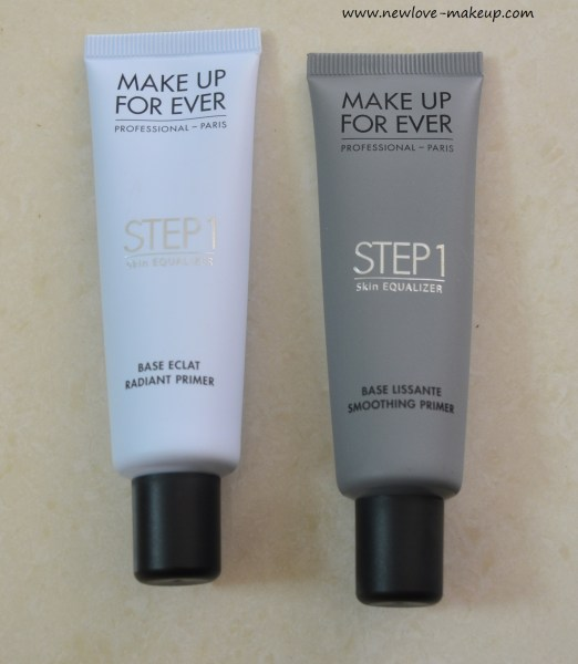Make Up For Ever Step 1 Skin Equalizer Primer Review, Swatches