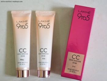 Lakme CC Color Transform Cream Beige, Bronze Review & Demo
