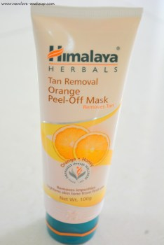 Himalaya Herbals Tan Removal Orange Peel-Off Mask Review, Indian Beauty Blog