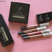 Faces Ultime Pro Second Skin Foundation, Pressed Powder & New Matte Lip Crayons Review, Swatches
