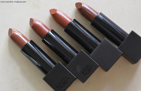 All Nykaa So Matte Nudes Collection Lipsticks Review, Swatches