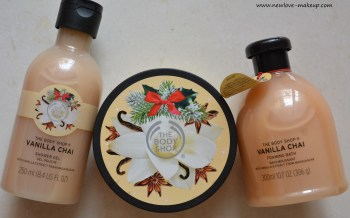 The Body Shop Vanilla Chai Range Review