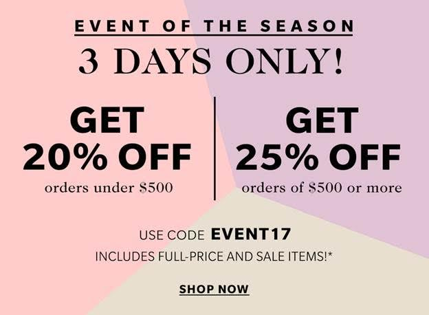 ShopBop Big Spring Sale!