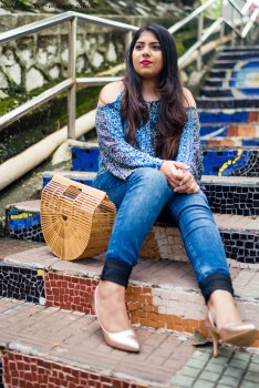OOTD: Shades of Blue feat. Recap Jeans