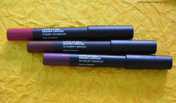 Sugar Matte As Hell Lip Crayons 12, 13, 14 Swatches