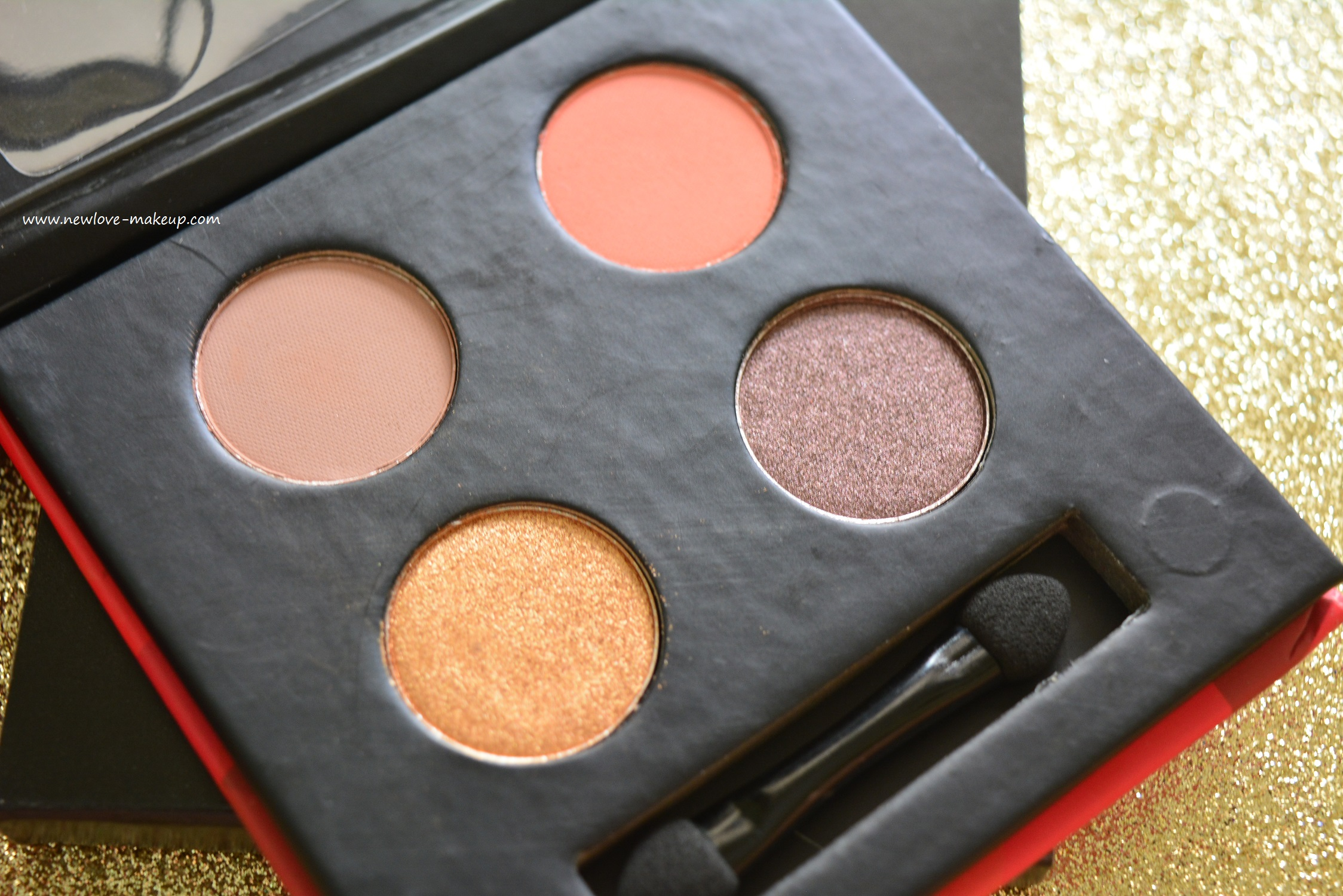 Sugar Blend The Rules Eyeshadow Quads Review, Swatches, Looks