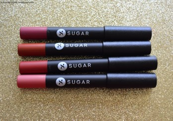 Swatches- New Shades 15 to 18 of Sugar Matte As Hell Lip Crayons