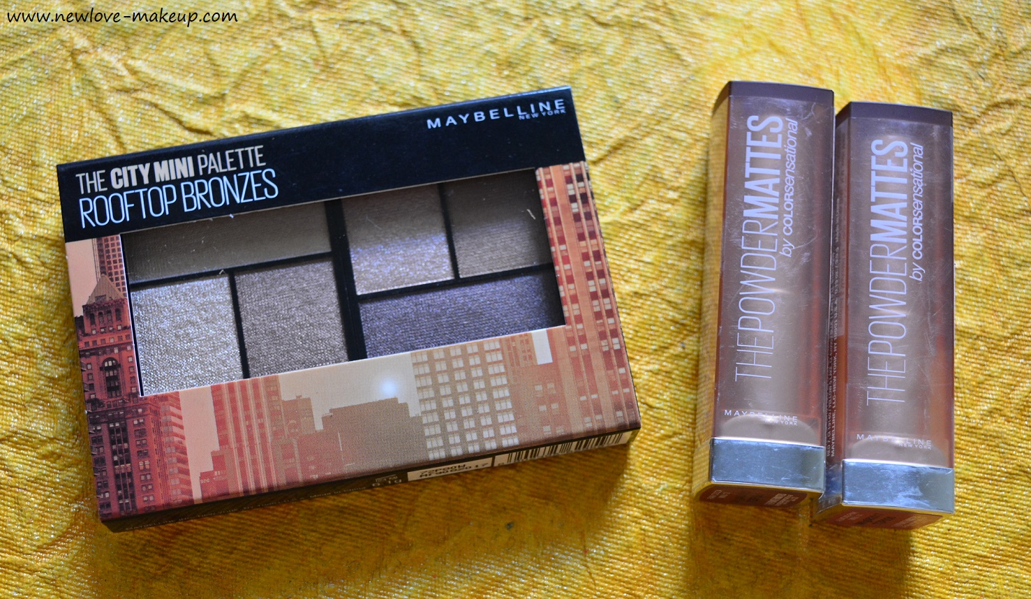 Maybelline India New Launches Review | City Mini Palettes, Inti-Matte Nude Lipsticks