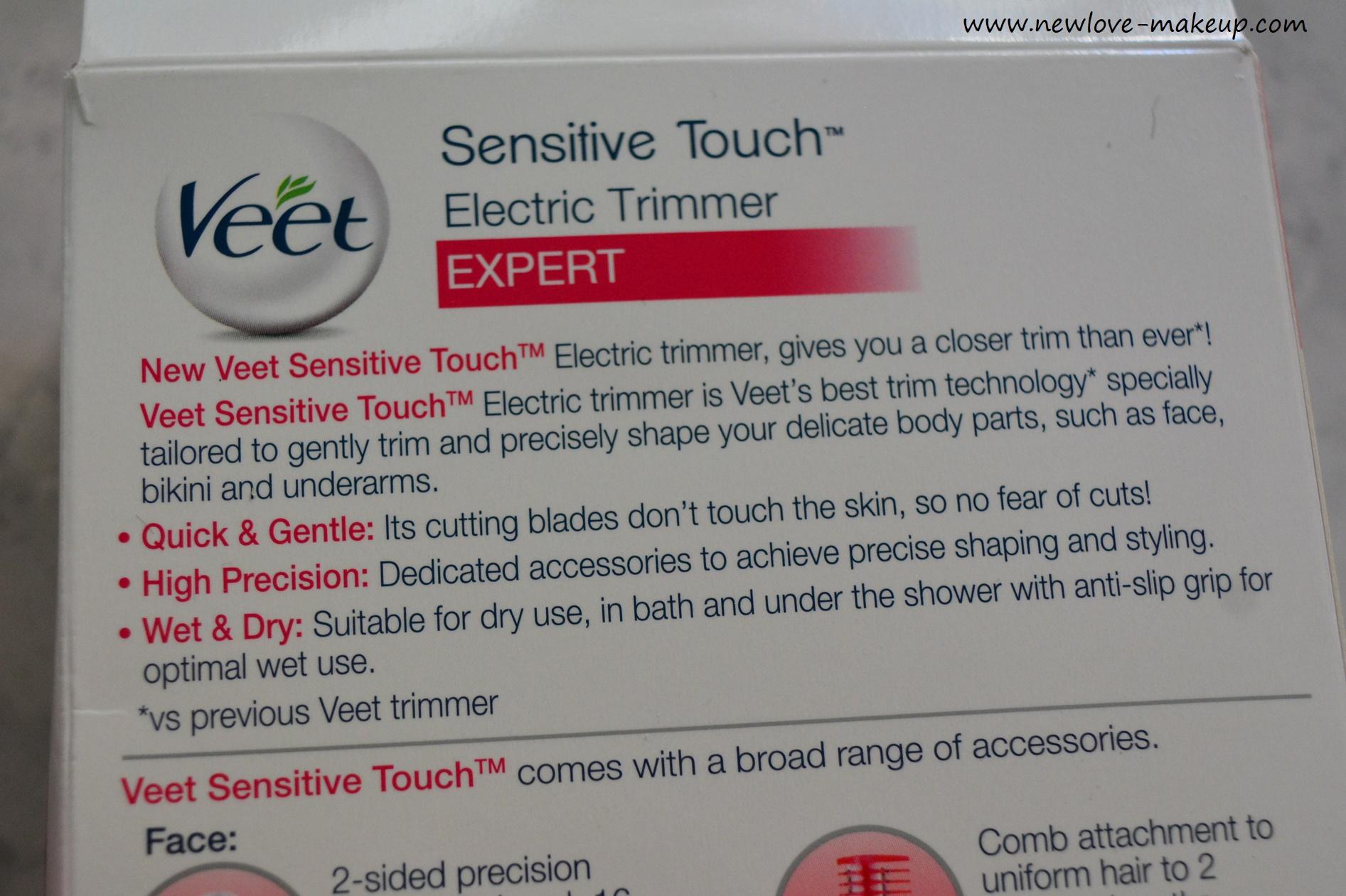 Veet Sensitive Touch Expert Beauty Trimmer Review