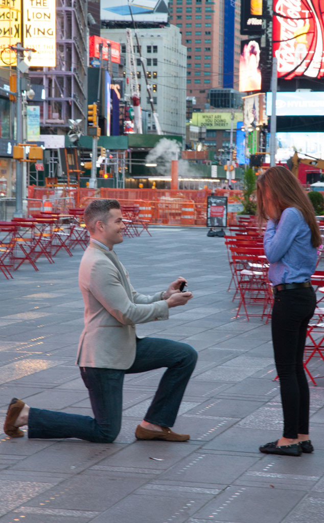 Ryan Serhant Shut Down Times Square To Propose