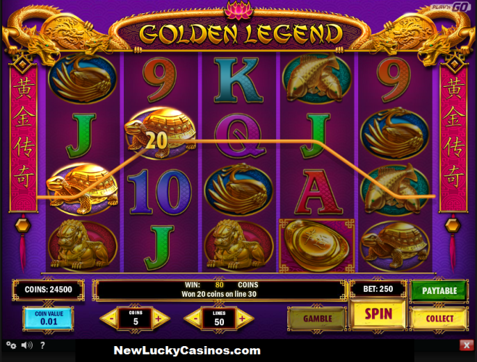 Golden Legend online Slot