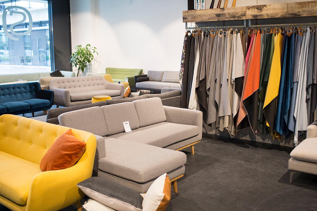 sofa company nl next michigan bed harper 3 seater velour lux dark green