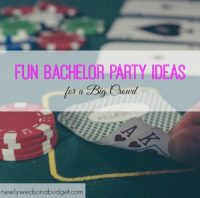 Fun Bachelor Party Ideas for a Big Crowd | Newlyweds on a ...