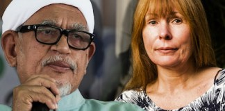 Claire Rewcastle-Brown and Abdul Hadi Awang
