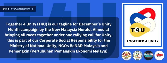 Together 4 Unity - New Malaysia Herald and Ministry of Unity Malayisa.
