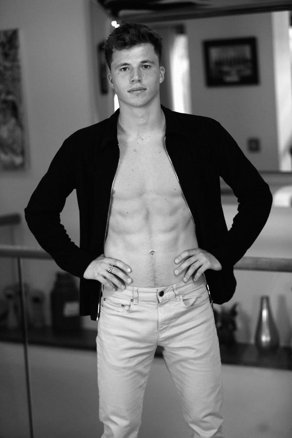 Freddie Woodwards Portfolio  New Male Models