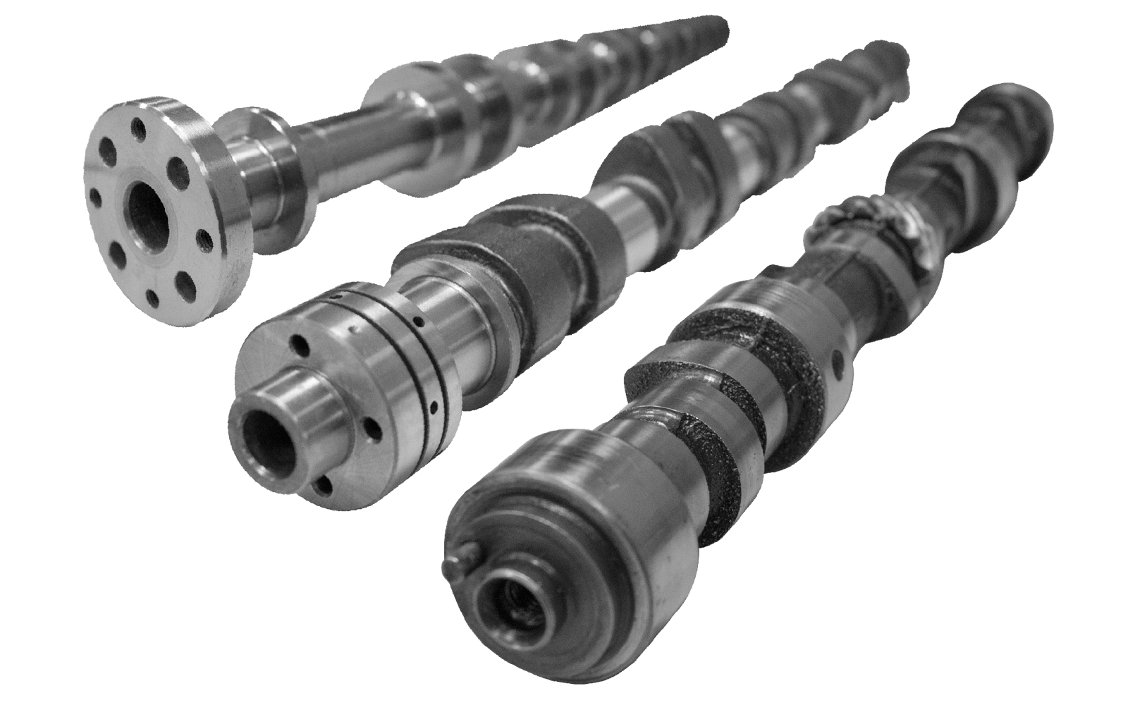 hight resolution of experts in camshaft production for road rally race motorcycle and classic car applications
