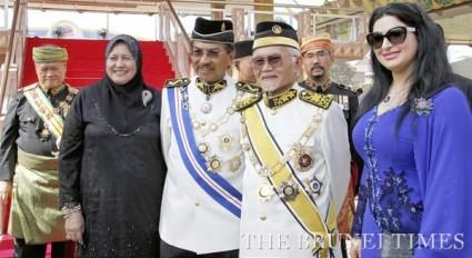 Taib Mahmud and Musa Aman
