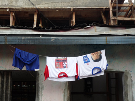 Has Indonesia been left hung to dry under SBY? Photo by Jacqui Baker.