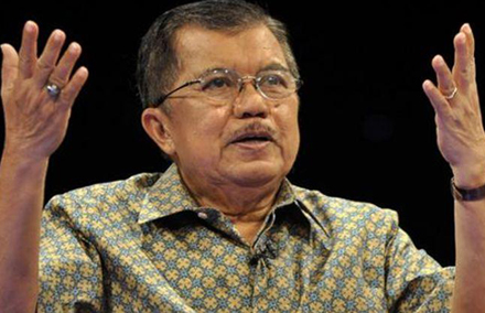 """Incoming Vice President Jusuf Kalla is one of Indonesia's political elites """"tired"""" of democracy."""
