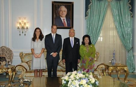 Najib Razak & Prince William