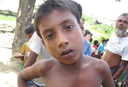 A young Rohingya boy in a camp for the internally displaced. Photo by European Commission DG Echo on flickr https://www.flickr.com/photos/69583224@N05/