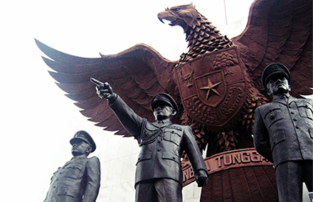 A monument to the generals slain in the failed coup. Photo: Vital Photography.