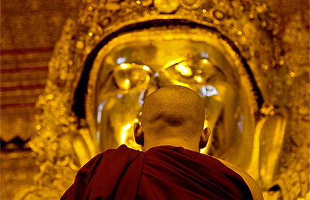Buddhism still largely shapes people's politics in Myanmar. Photo: Chris Beckett on flickr https://www.flickr.com/photos/chrisjohnbeckett/