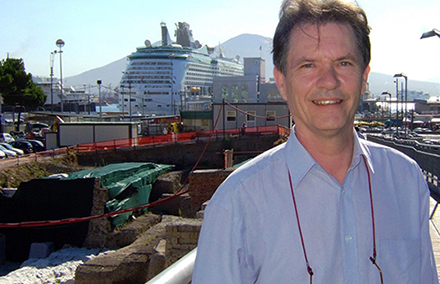Nicholas Tapp at the EUROSEAS conference in Naples, 2007. Photo from the Professor Nicholas Tapp Tribute Page on Facebook https://www.facebook.com/Professor-Nicholas-Tapp-Tribute-Page-1633753400196655/photos/